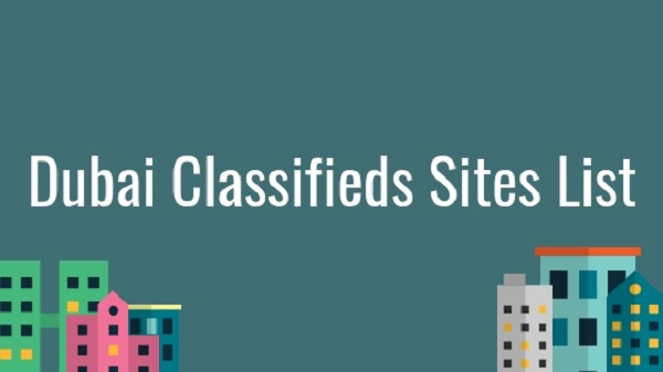 Classified Submission Sites List for UAE OR Dubai