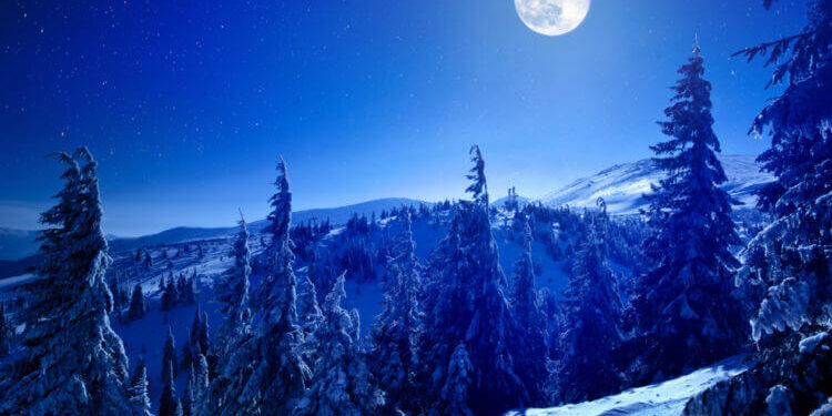 Snow Moon Will Light Up The Sky This Weekend
